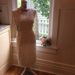Gorgeous Ivory Lace Wedding/ Cocktail Dress